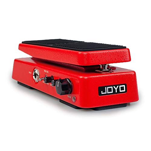 JOYO WAH-II Multimode WAH Pedal and Volume Pedal, Multifunctional Wah Mini and Portable with WAHWAH Sound Quality Value knob