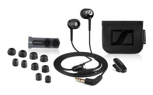 Sennheiser CX 400 II Precision Negro - Auriculares in-ear (Reducción de ruido), negro
