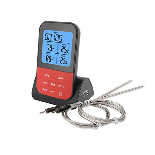 Eliky Digital BBQ thermometer LCD-display Dual sondes voor voedsel grill keukenapparaten 1
