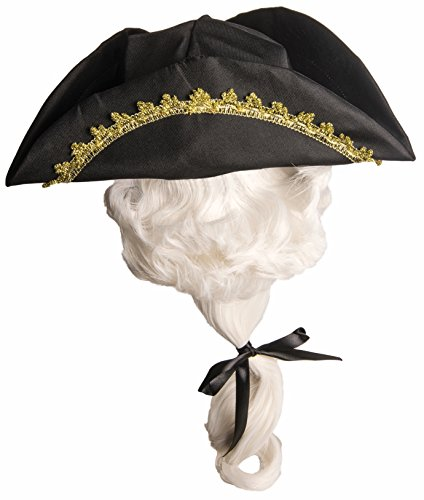 Forum Novelties Kid's Colonial Hat with Wig