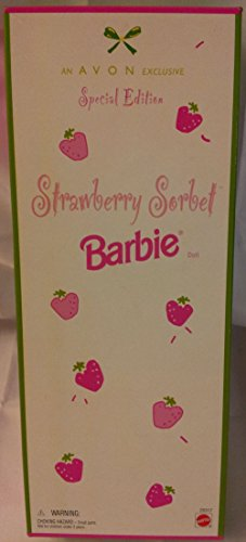 Avon Exclusive Special Edition Strawberry Sorbet Barbie, 1998