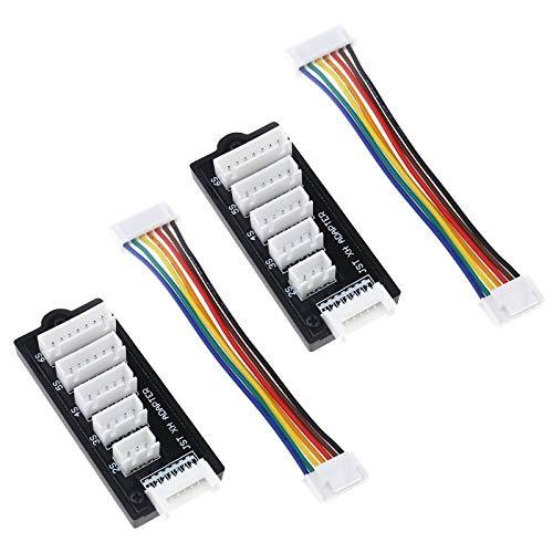 OTOTEC 2S-6S Balance Charger Erweiterung JST-XH Adapter Board für RC Lipo Akku Laden