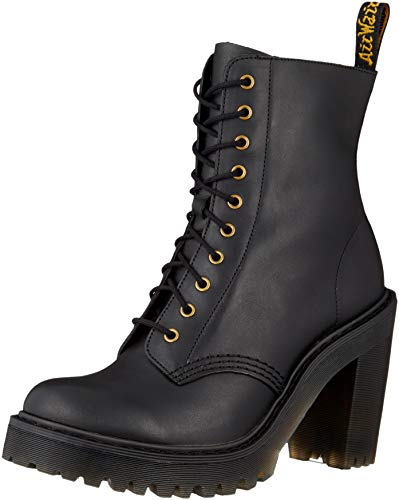 Dr. Martens Women's Kendra Fashion Boot, Black Sendal, 10