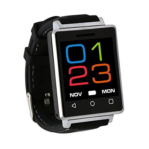 Orologio Braccialetto Bracciale/Orologio Intelligente Lo Sport - Fitness Tracker Fascia Cardio Smartwatc Italiano Supporto per Android iOS & Vita Impermeabile - (Argento) REG7