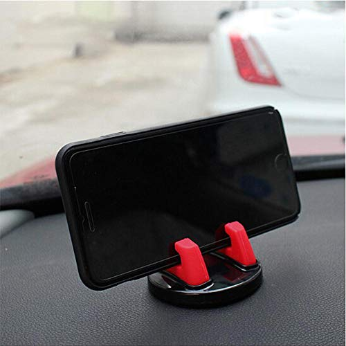 IKSNAIL Soporte de teléfono de coche de 360 grados silicona suave antideslizante Mat soporte de teléfono móvil soporte de coche GPS Dashboard soporte