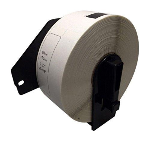 Adressetiketten für Brother DK-11201, 400 Etiketten, 29 mm x 90 mm, kompatibel