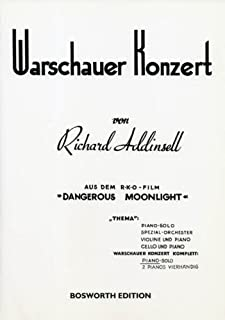 Warsaw Concerto Piano Solo