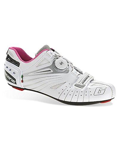 Gaerne Carbon Composite G.Luna - Zapatillas de Ciclismo para Mujer, Color Blanco, Talla 39