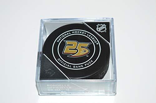 Sherwood Anaheim Ducks 25th Anniversary NHL Official Game Puck