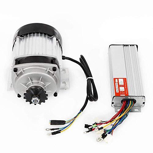WYZXR Motor eléctrico sin escobillas de 48V 750W con Controlador de Velocidad para Bicicleta, Triciclo, Motocicleta, Scooter