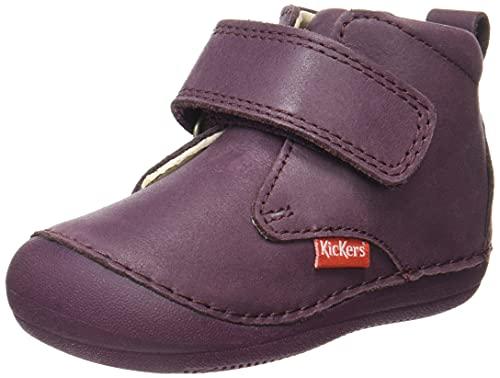 Kickers Baby-Mädchen SABIO Oxford-Schuh, dunkelviolett, 23 EU
