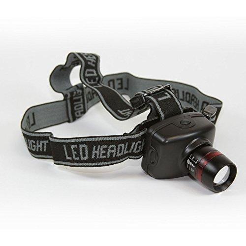 Promar 180LM LED Linterna Frontal con Zoom intensificador de