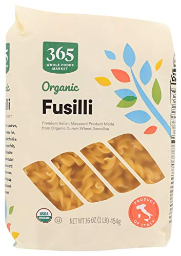 365 Everyday Value, Organic Fusilli, 16 oz