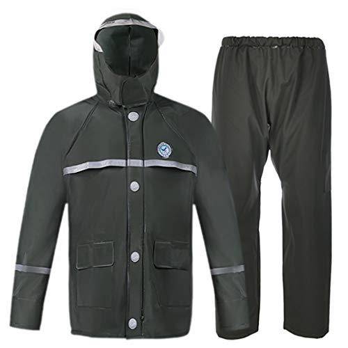 Su-luoyu Manteau Imperm/éable pour Chien Animaux Domestiques Poncho de pluie /à Capuche avec Bande R/éfl/échissante