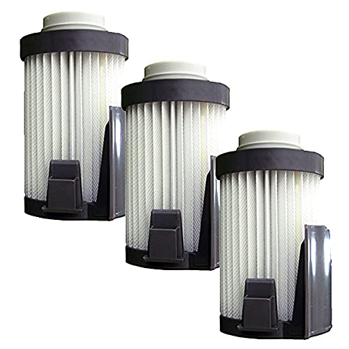 (3) Eureka Style DCF 14 , DCF 10 Lightweight Upright Vacuum Cleaner Pleated Hepa w/activated Charcoal Dust Cup Filter, Optima, Pet Lover, 62396-1, 62396-12, 73734-2, 2316911737, 023169117372, 73824, 62731A, 62731B, DCF14, 62731-12, 470953, 62731A-2, 62417, 62731B-Z with Mini Tool Box (dh)