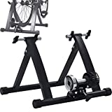 JEANN-AZCX Wireless Magnetic Resistance Bicycle Trainer Bike Turbo Trainer Indoor Stationary Bike Exercise Stand Steel Frame