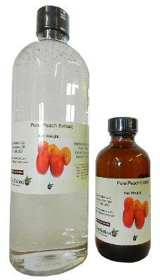OliveNation Peach Extract, Sugar Free Peach Flavoring, Natural Flavors, Non-GMO, Gluten Free, Kosher, Vegan - 2 ounces