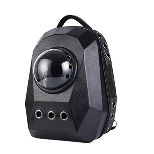 GXHGRASS kamercapsule voor huisdieren, draagbaar, ademend, zelfborgende ritssluiting, multidirectionele gaten, voor minder dan 15 pond huisdieren