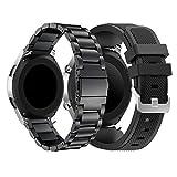 Yayuu Samsung Galaxy 46mm/Gear S3 Frontier/Classic Bracelets de Montre, 22mm Bande de...