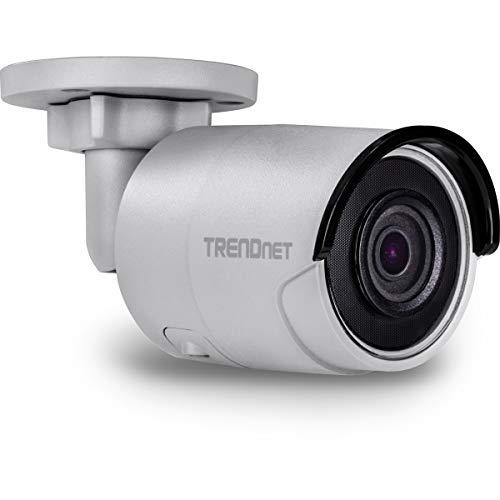 TRENDnet Innen/Außen 2 MP H.265 WDR PoE IR Stift Netzwerk Kamera, IR Nachtsicht bis zu 30m (98 Fuß), 120dB Wide Dynamic Range, Aufzeichnung nach Bewegungsmeldung, IP67 Schutzklasse, TV-IP326PI