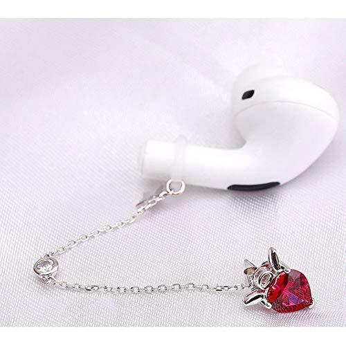 Clip D oreille Anti-dérapant Anti-perte Bluetooth écouteurs S925 Argent Clous D oreille Manchette D oreille Une Paire