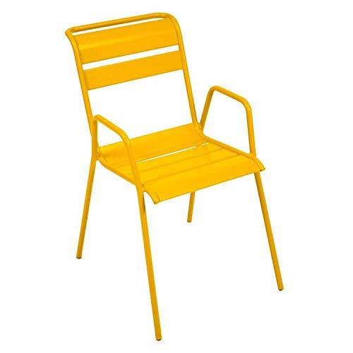 Fermob Monceau stoel, geel