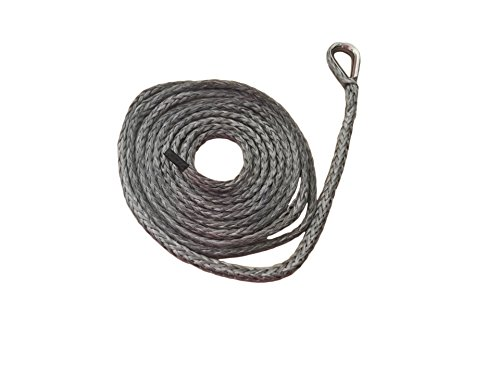 Fantastic Deal! QIQU 1/4 10ft ATV Plow Lift Rope,Snow Plow Lift Rope,Synthetic Rope,Snow Plow Attac...