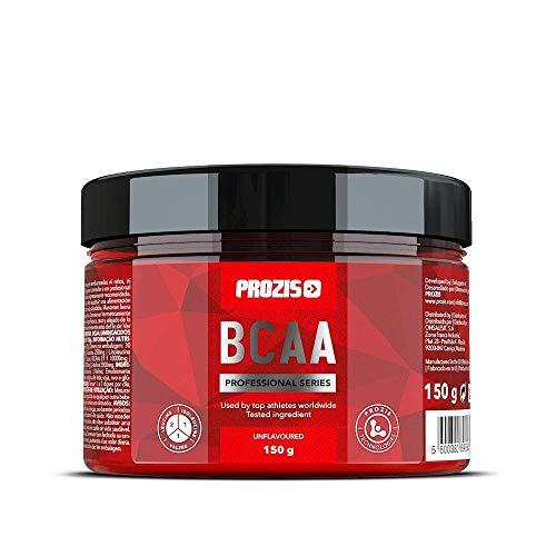Prozis BCAA Professional 150 g Naturale - Rapporto 2:1:1 di BCAA, Formula in polvere a rapido assorbimento