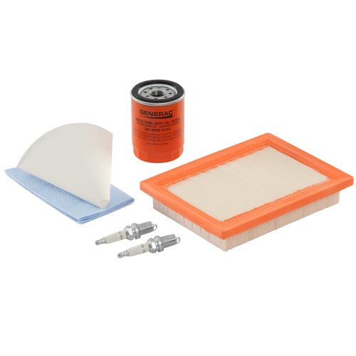 Generac 6483 Scheduled Maintenance Kit for Home Standby Generators with 10 kW 533cc Engines