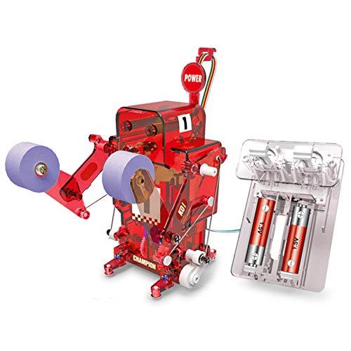 ACToy DIY Robot Kit, Fighting Robot Battle Toys, Educational Stem Kits, Build Your Own Robot Kit for Kids