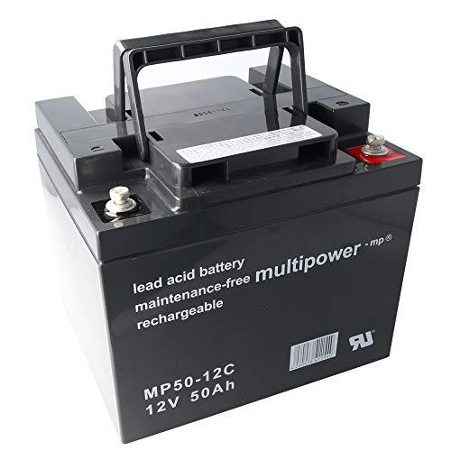 MultiPower &gt BleiGel Akku MP50-12C zyklenfest