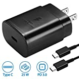 USB C Wall Charger, PD 25W Fast Charger for Samsung Galaxy...