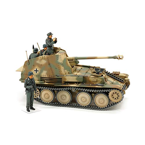 TAMIYA 35364 - Maqueta de Tanque alemán de Caza Marder III Normandie, Escala 1:35, construcción de maquetas, plástico, Hobby, Manualidades, Pegamento, maqueta de construcción, Modelo, Montaje