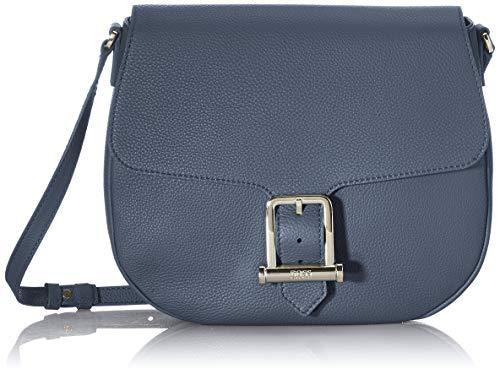 BOSS Kristin Saddle N-g, Bolsa de sillín. para Mujer, Dark Blue401, Einheitsgröße