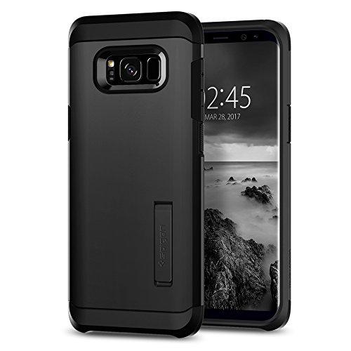 Spigen Tough Armor Hülle Kompatibel mit Samsung Galaxy S8 -Schwarz