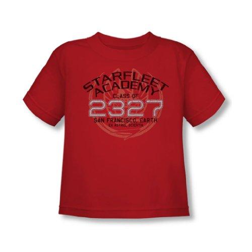 Star Trek - - Tout-petit Graduation Picard T-shirt En Rouge, 2T, Red