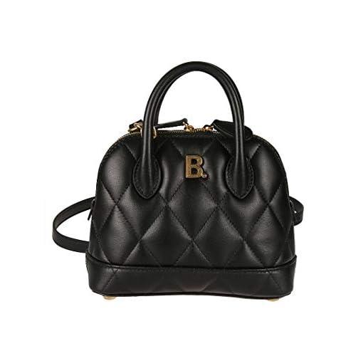 Balenciaga Luxury Fashion Donna 5506461NH2M1000 Nero Pelle Borsa A Mano | Primavera-estate 20