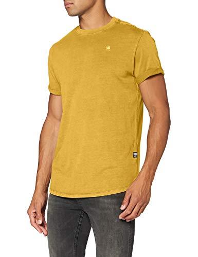 G-STAR RAW Mens Lash T-Shirt, Green Sulphur gd 2653-B854, X-Large