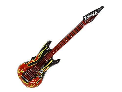 k.a. Guitare électrique gonflable Heavy Metal, Rock, Pop - Longueur : env. 1 m