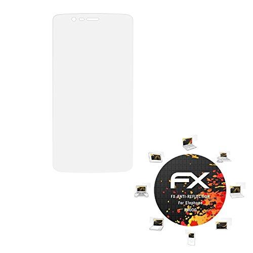 atFolix Panzerfolie kompatibel mit Elephone P8000 Schutzfolie, entspiegelnde & stoßdämpfende FX Folie (3X)
