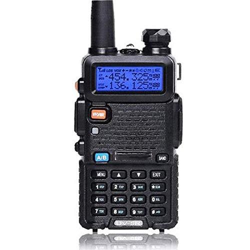 QCHEA Doble Walkie Walkie Talkie con Auricular - Función VOX incorporada, 136-174/400-480MHz