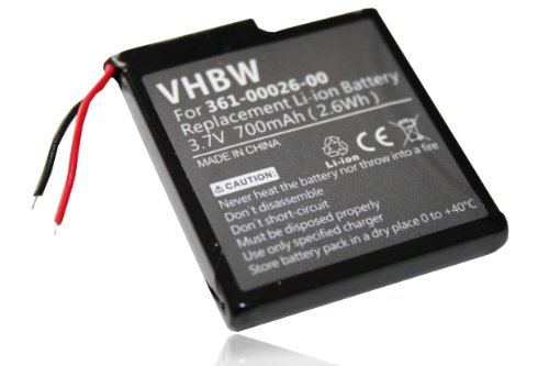 Batería LI-ION 700mAh compatible con GARMIN ForeRunner 205, ForeRunner 305 sustituye 361-00026-00