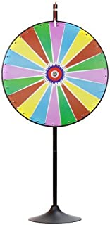 """MIDWAY MONSTERS 36"""" Dry Erase Color Prize Wheel with Extension Base and Extension Pole"""