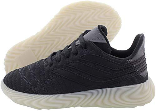 Adidas SOBAKOV J, Zapatillas de Deporte Unisex Adulto, Gris (Carbon/Negbás/Ftwbla 000), 36 EU