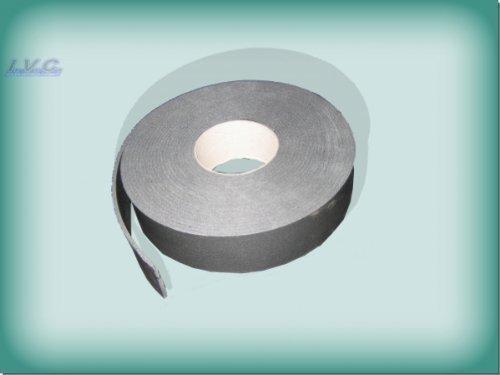 Kautschuk Band für Rohrisolierung Heizung/Sanitär Tape selbstklebend 50mm, grau
