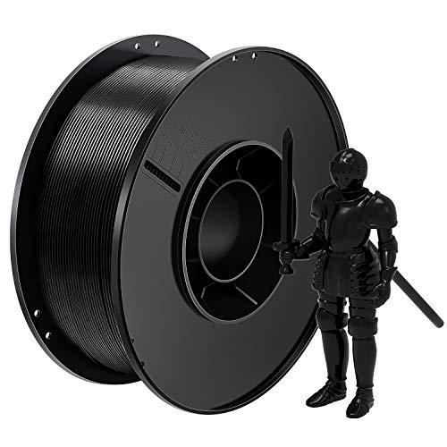 Onebuy PLA 3D Printer Filament 1.75mm Bundle Black Pack , 1kg Spool (2.2lbs), Pack of 1, Dimensional Accuracy +/- 0.03 mm