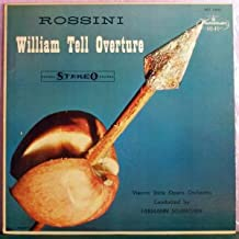 OVERTURES (William Tell, Fra Diavolo, Zampa, Donna Diana) - SCHERCHEN, VSOO - WESTMINSTER WST-14031 (stereo) [LP RECORD]