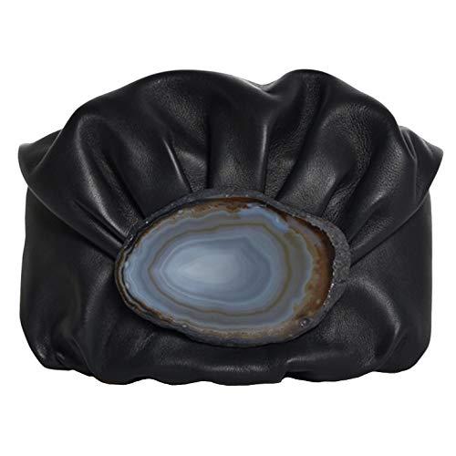 Malababa Bolso de Mano de Mujer Nanohontas Tipo Clutch en Color Negro