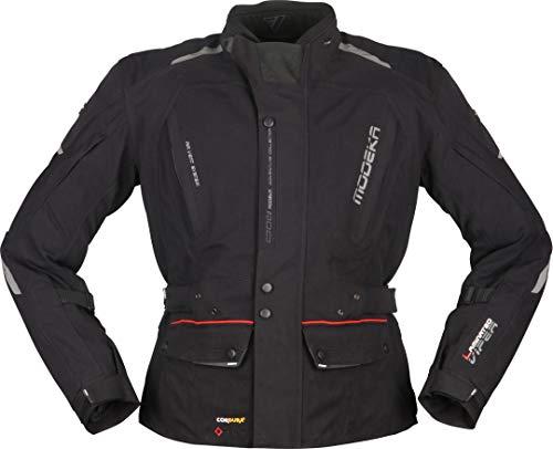 Modeka Viper LT Motorrad Textiljacke Schwarz M