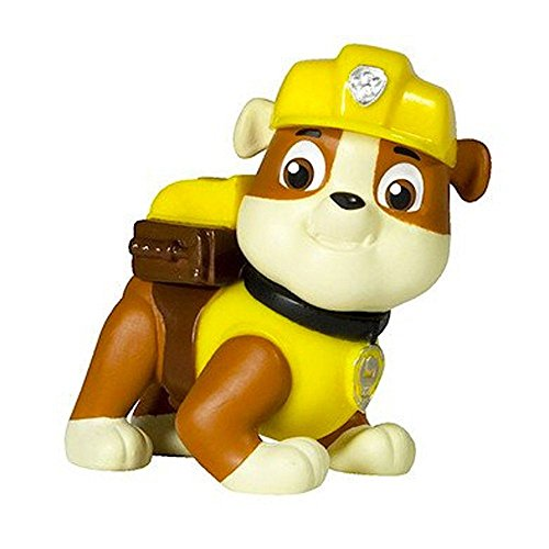 Paw Patrol – Pup Buddies – Rubble – Figura Básica 6 cm La Patrulla Canina